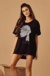 Camisa-Preta-Cocar-Hippie-Chic-frente