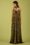 Vestido-verde-Patchwork-Yacamim-Frente