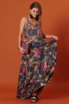 Vestido-longo-alcas-azul-marinho-estampado-yacamim-frente