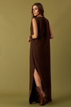 Vestido-Marrom-Longo-Yacamim-Costas