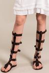 Sandalia-Gladiadora-Marrom-Yacamim-Lado