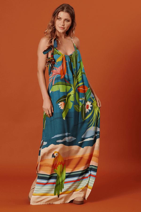 Vestido-Longo-com-Recorte-Nadador-Yacamim-Lado