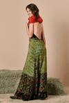 Vestido-patcwork-frente-unica-Yacamim-cachecol
