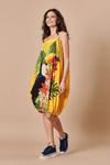 Vestido-curto-colecao-passaros-do-Brasil-Lado