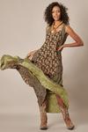 Vestido-Longo-Patchwork-Verde-yacamim-frente