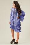 Vestido-Curto-Azul-Tie-Dye-Yacamim-costas