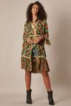 Kimono-Curto-Verde-Patchwork-Yacamim-Frente