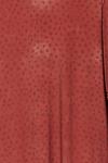 Vestido-Curto-Marrom-Estampa-Colecao-Viva-las-Cores-detalhes