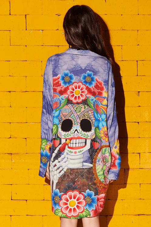 Chemise-bolso-folie-colecao-viva-las-cores-yacamim-costas