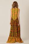 Vestido-Longo-Abertura-botoes-amarelo-patchwork-yacamim-costas