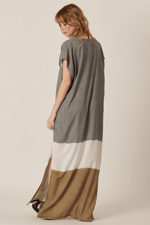 Vestido-Longo-Cinza-e-Marrom-Tie-Dye-Yacamim-Costas