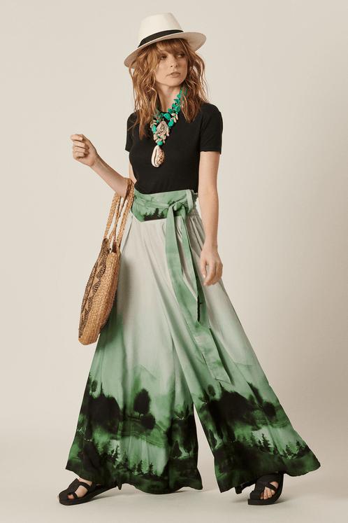 Calca-Pantalona-Verde-Yacamim-Frente