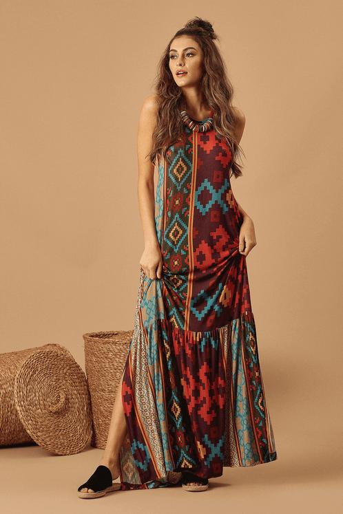 Vestido-Longo-Estampado-Yacamim-Frente