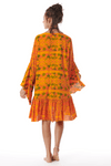 Vestido-Laranja-Yacamim-Costas