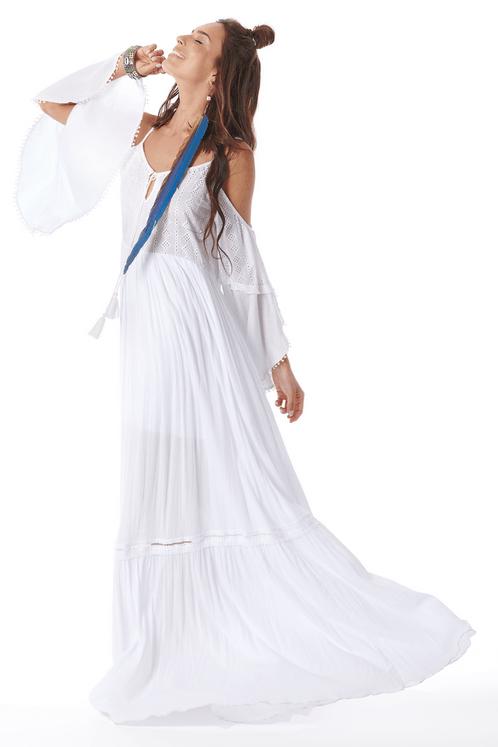 Vestido-Longo-Ombro-Vazado-Branco-Yacamim-frente-