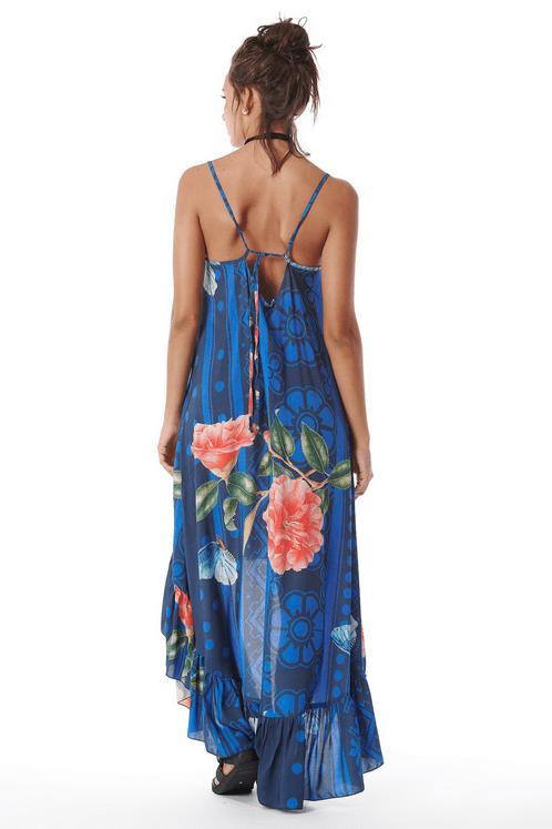 Vestido-Mullet-Azul-Estampado-Costas