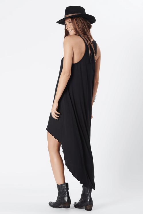 Vestido-Yacamim-Mullet-Preto-costas