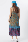 Vestido-Midi-Yacamim-Azul-Patchwork-costas
