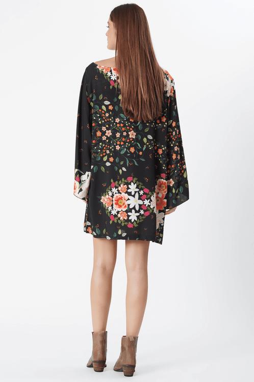 Vestido-Curto-Preto-Floral-yacamim-costas