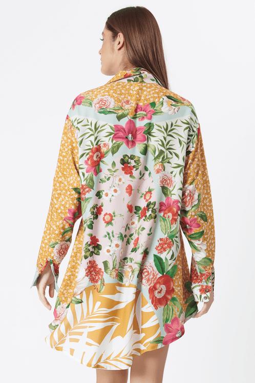Camisa-Bolso-folie-Amarela-Rose-estampada-yacamim-costas