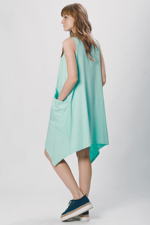 Vestido-Yacamim-verde-Pontas-costas