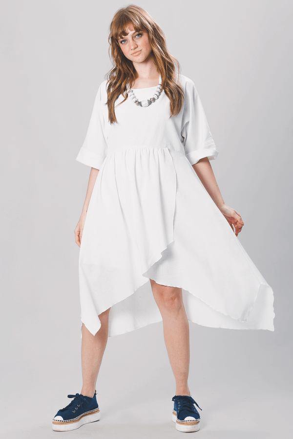 Vestido-curto-transpassado-off-white-yacamim-frente