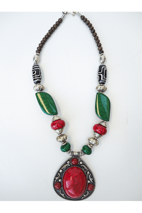 Colar-Indiano-Pedra-Vermelha-Yacamim-hippie-Chic