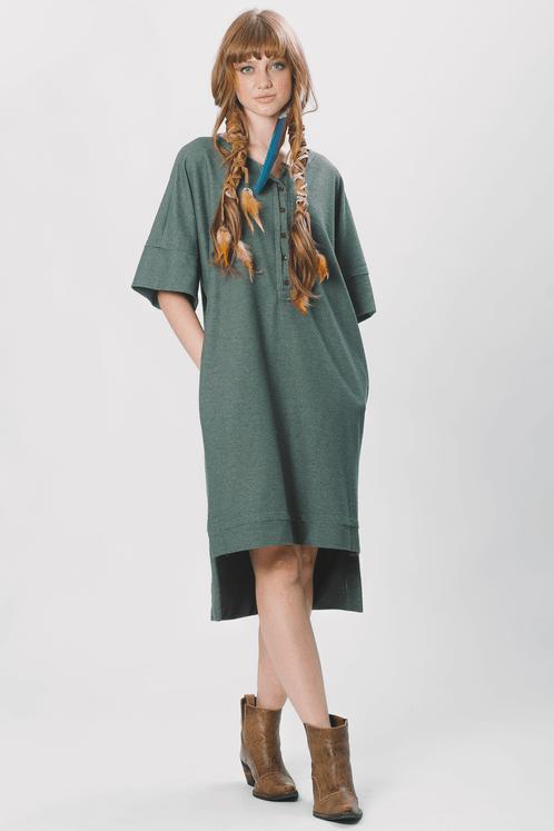 Vestido-Midi-Verde-Yacamim-frente