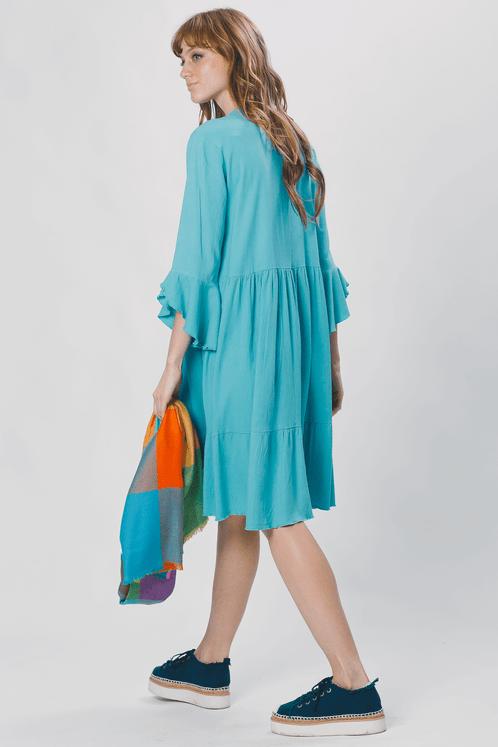 Vestido-Curto-Verde-Claro-Yacamim-costas