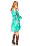 Vestido-Curto-com-Mangas-Abertas-Verde-Tie-Dye-Digital-Yacamim-costas