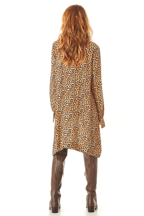 Camisa-Ampla-com-Mangas-3-4-Estampa-Animal-Print-Yacamim-costas