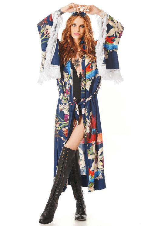 Kimono-Floral-Azul-Yacaim-frente