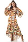 Vestido-Longo-Mullet-Estampado-Yacamim-frente