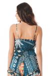 Cropped-Azul-Estampado-Yacamim-costas