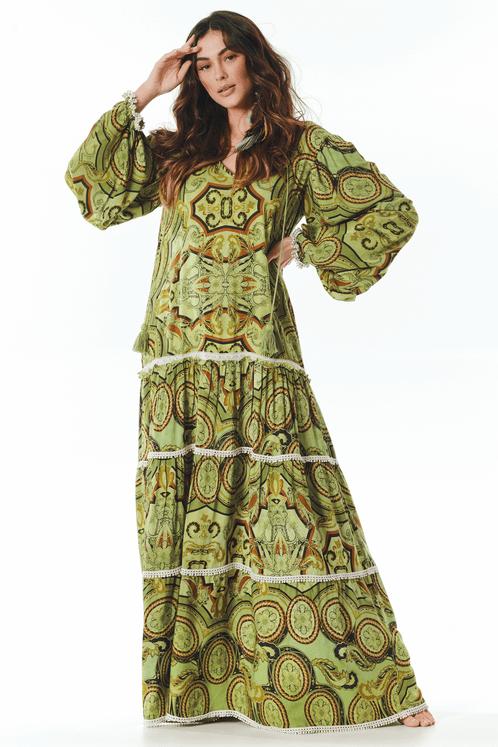 Vestido-Verde-Estampado-Yacamim-frente