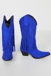 Bota-Franjas-azul-Yacamim-lado