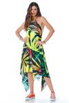 Vestido-Lenco-Verde-estampado-yacamim-frente