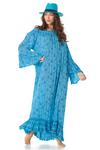 Vestido-Longo-Ciganinha-Azul-Estampado-Yacamim