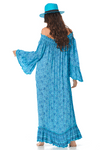 Vestido-Longo-Ciganinha-Azul-Estampado-Yacamim-costas