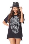 Camiseta-Frases-Preta-Yacamim-perto