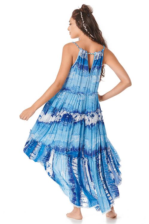 Vestido-Mullet-Amplo-Azul-Estampado-Yacamim-costas