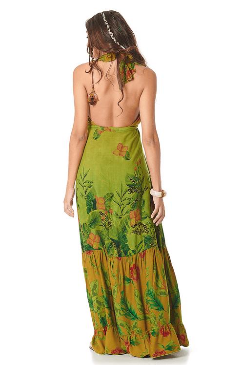 Vestido-Longo-Verde-Patchwork-yacamim-costas