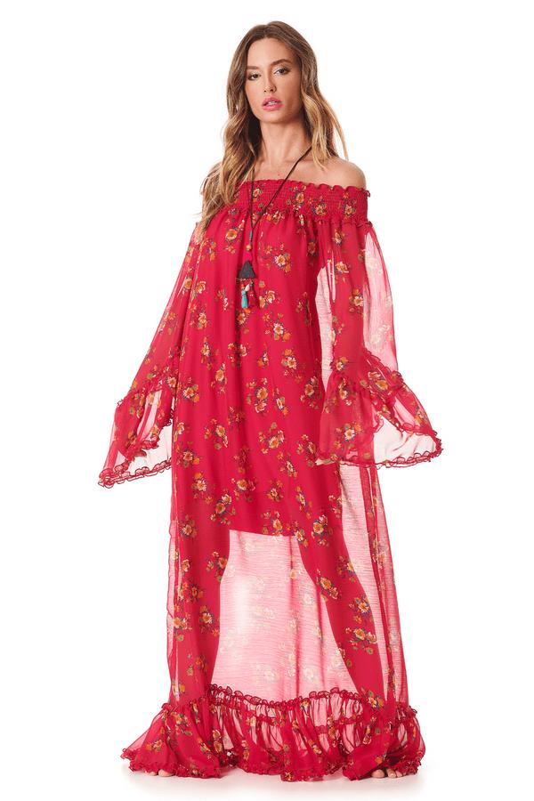 Vestido-Longo-Transparente-rosa-yacamim-frente
