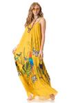 Vestido-Longo-amarelo-estampado-yacamim-frente