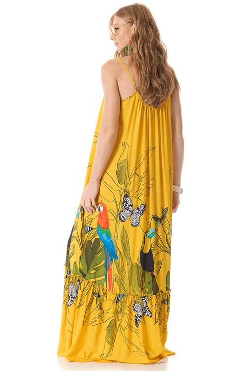 Vestido-Longo-amarelo-estampado-yacamim-costas