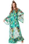 Vestido-longo-verde-transparente-yacamim-frente