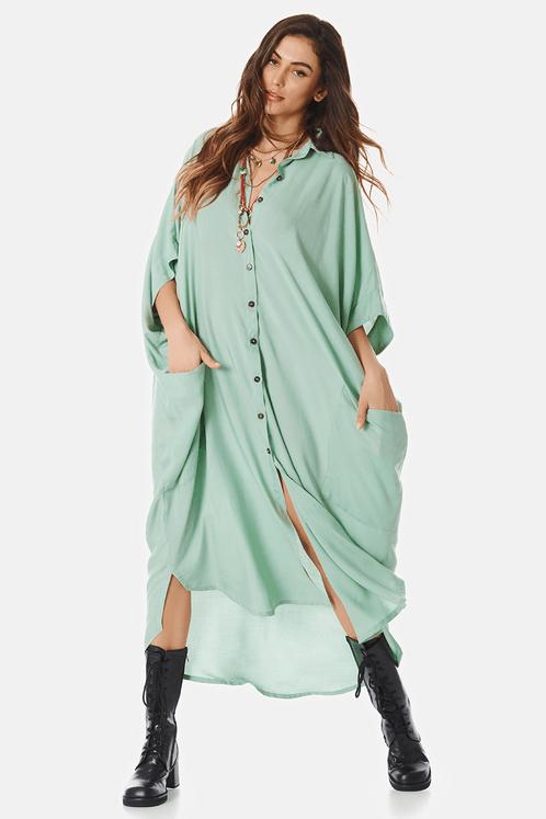 Chemise-longo-verde-claro-yacamim-frente