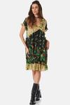 Vestido-Curto-Compose-Patchwork-Yacamim-Frente